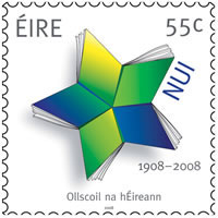 The NUI Centenary stamp