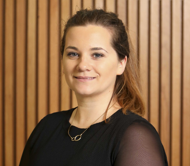 Dr Caitríona M. Collins, recipient of the NUI Post-Doctoral Fellowship in the Sciences 2019