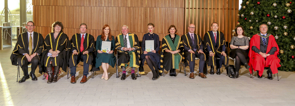 Recipients of NUI Dr H H Stewart Medical Scholarships and Prizes 2019 from St Angela's College, Sligo