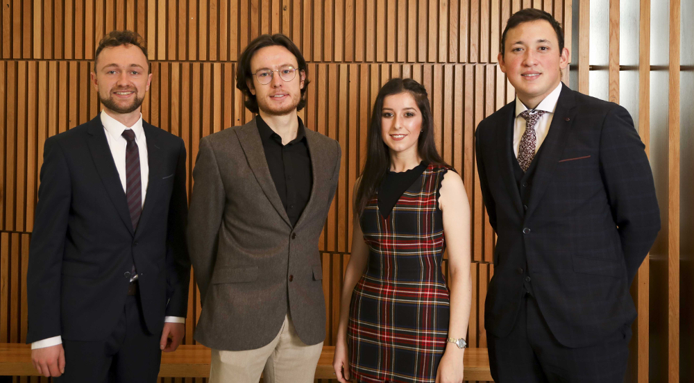 NUI Travelling Studentships and Travelling Studentship Prize in the Sciences 2019 Recipients