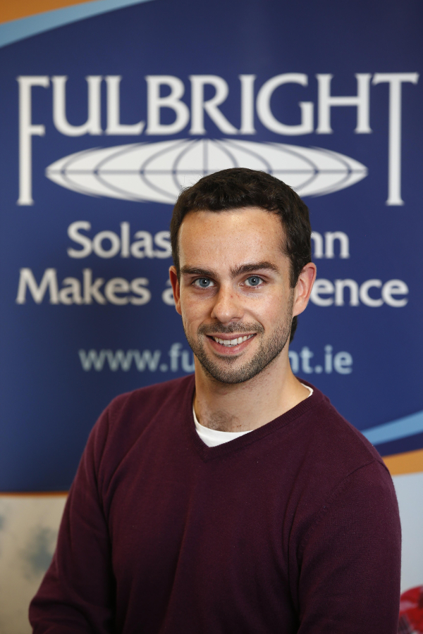 Dr Michael Paye, 2016 Fulbright-NUI Student Award recipient.