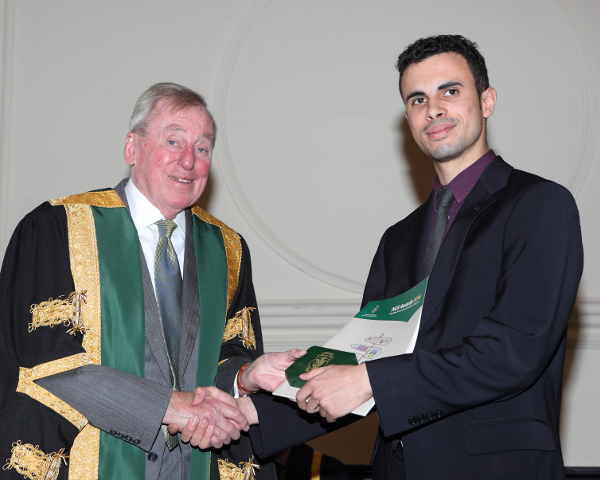 DHassan Ould Moctar, recipient of 2016 NUI Travelling Studentship in Development Studies