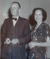 E J Phelan and his wife Fernande