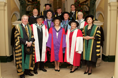 Group Photo NUI Honorary Conferring Recipients