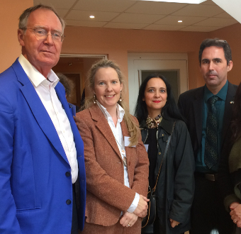 Pictured at the 'Constructing Equality in the Early Modern Period' Conference, 25-26 October, (L-R) Prof. Siep Stuurman, Utrecht University, Dr Derval Conroy, UCD, Prof. Marie-Frédérique Pellegrin, Université de Lyon 3, M. Marc Daumas, Cultural Services, Embassy of France in Ireland