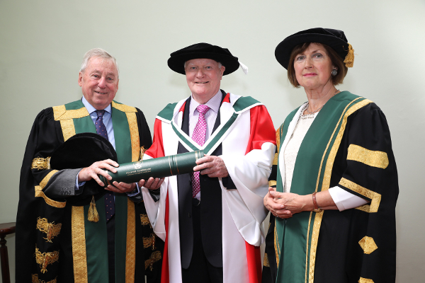 NUI honours Michael Conry, Irish folklorist