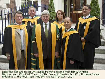 Group Photo Chancellor's Election to RIA