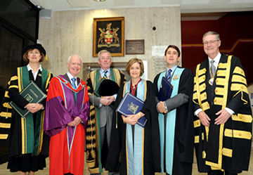 Honorary Conferring 2009 Stage Party