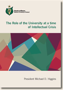 Cover Page The Role of the University at a time of Intellectual Crisis
